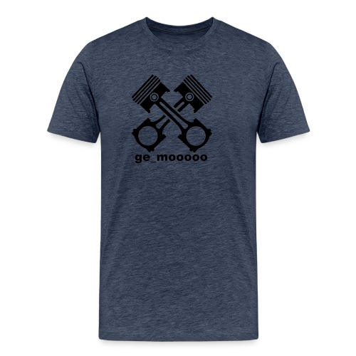 ge_mooooo logo - Männer Premium T-Shirt