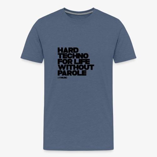 Hardtechno for life without parole! - Men's Premium T-Shirt