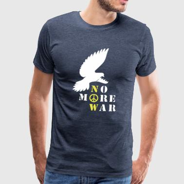 No More War nu Silhouette - Premium-T-shirt herr