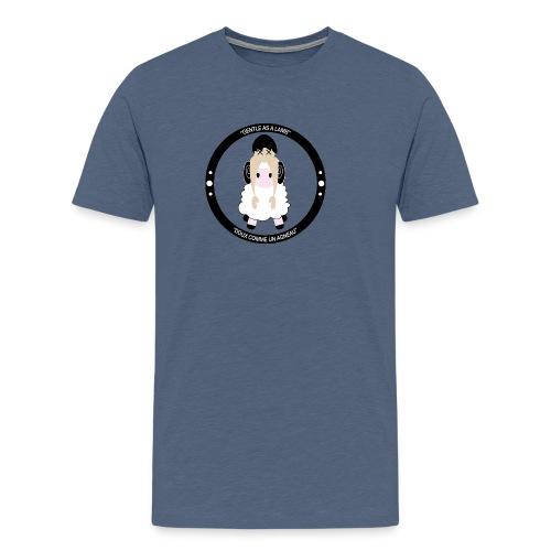 GENTLE AS A LAMB / Doux comme un agneau - T-shirt Premium Homme
