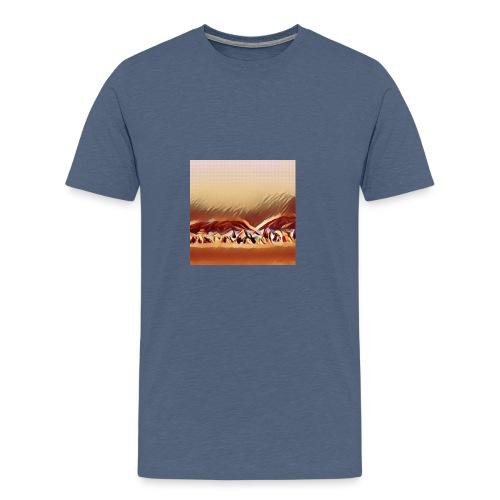 Beach in Brazil - Premium T-skjorte for menn