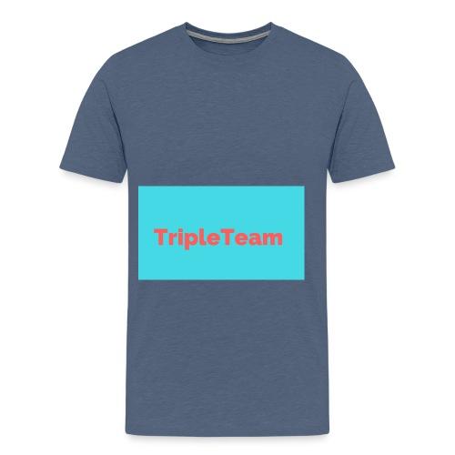 TripleTeam Logo - Mannen Premium T-shirt