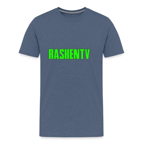RaskenTv Green - Premium-T-shirt herr