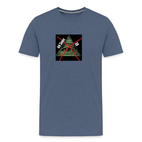 Denis mit einem n - Männer Premium T-Shirt