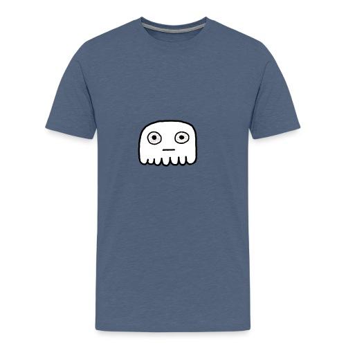 GhostCloth Geist mit roten Augen - Männer Premium T-Shirt
