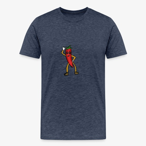 Chili-Love - Männer Premium T-Shirt