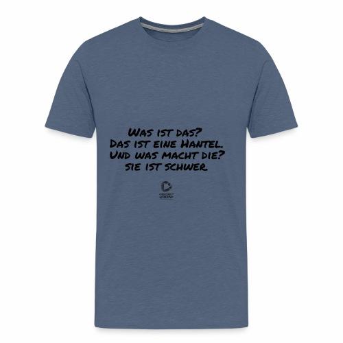 Was ist das ?... - Männer Premium T-Shirt