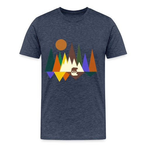 bos - Mannen Premium T-shirt