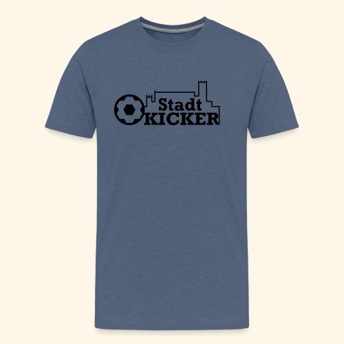 Wartburg Stadt Kicker - Männer Premium T-Shirt