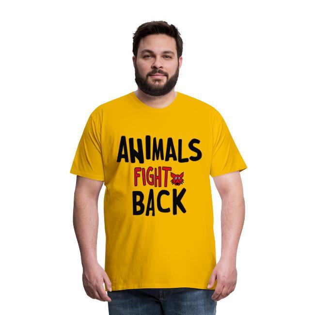 Animals fight back