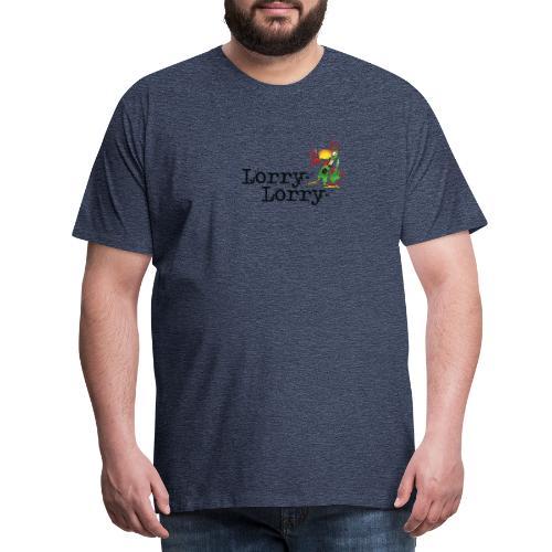 Lorry_logo_liten - Premium T-skjorte for menn