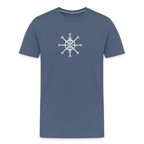 Ulfhednar Weiss - Männer Premium T-Shirt