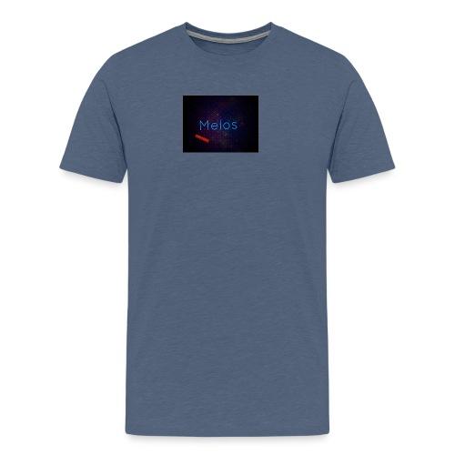 Melos051566 - Premium-T-shirt herr