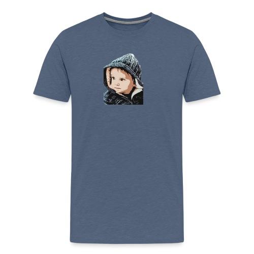 lolo capuche dessin - T-shirt Premium Homme