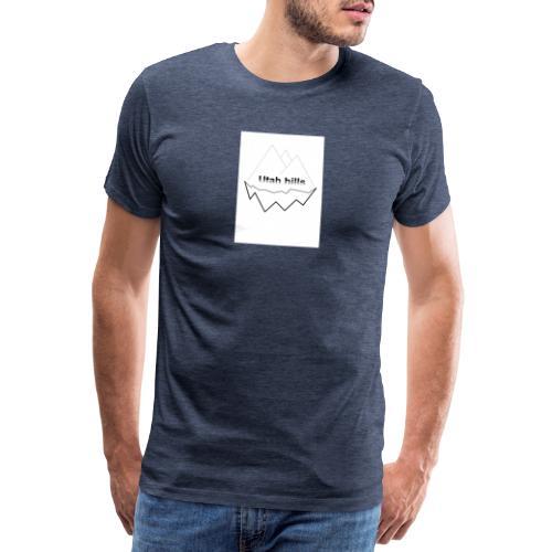 Utah hills - Herre premium T-shirt
