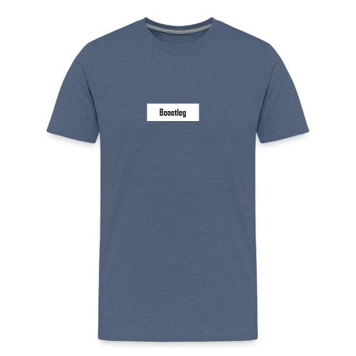 boootleg - Premium T-skjorte for menn