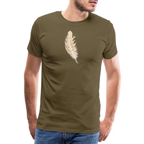 EngelFeder der LiebesFülle - Männer Premium T-Shirt