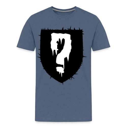 gåta - Premium-T-shirt herr