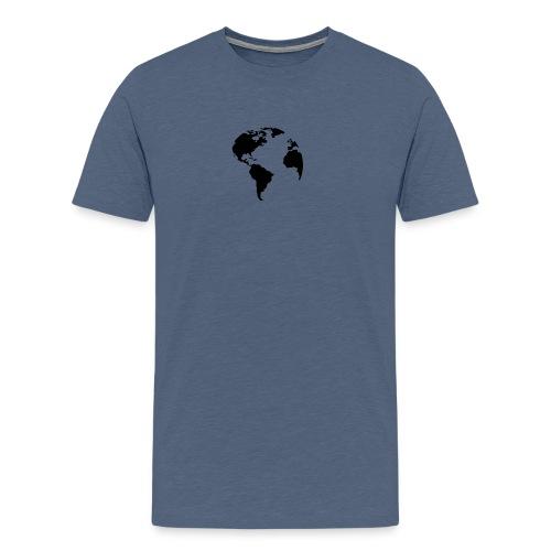 Welt World Erde - Männer Premium T-Shirt