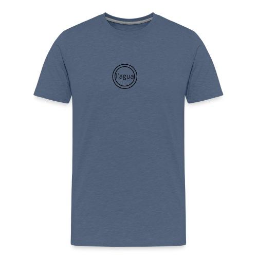 l agua black theme - Men's Premium T-Shirt