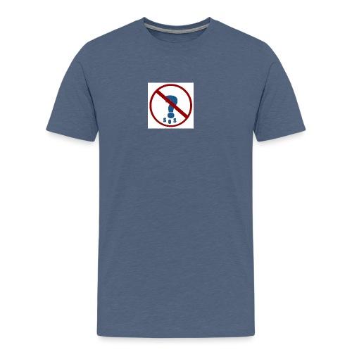 Logo SOS Mystères - T-shirt Premium Homme