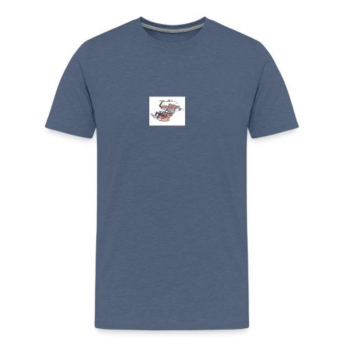 pops d - Männer Premium T-Shirt