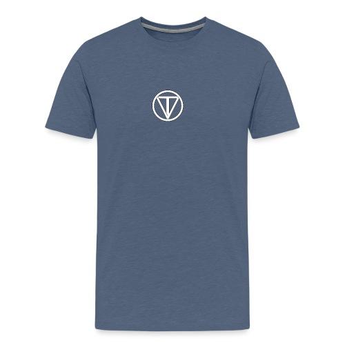 Långärmade T-shirts - Premium-T-shirt herr