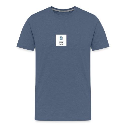 Bexon plays logo - Men's Premium T-Shirt