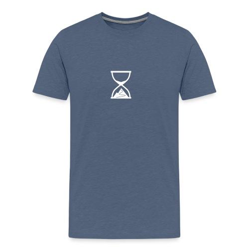 TTT crop downloaded - Men's Premium T-Shirt
