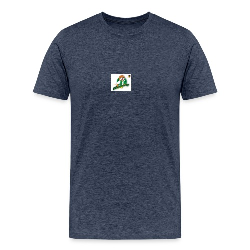 hammarby mascot01 ab - Premium-T-shirt herr