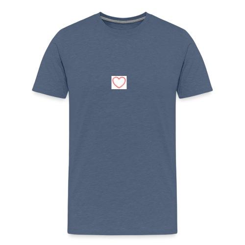 heart jpg - Männer Premium T-Shirt