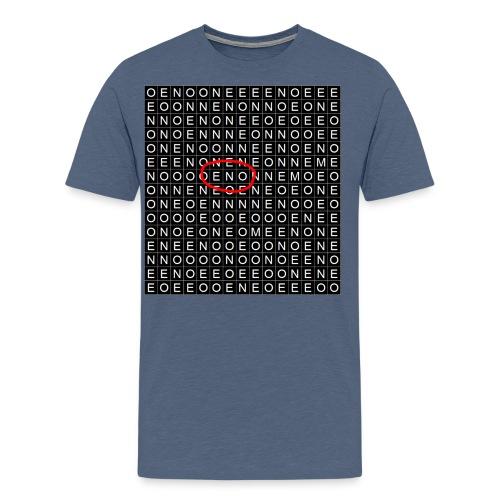 Elämäsi ristikko - Miesten premium t-paita