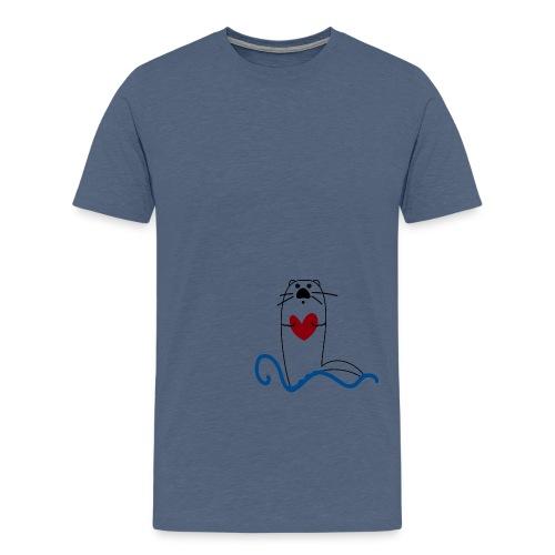ilovelontra - Maglietta Premium da uomo