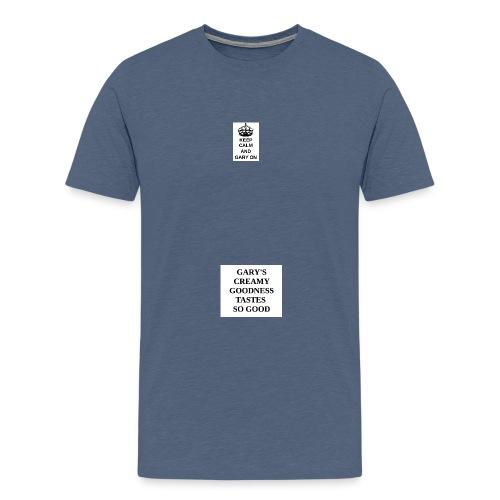 Keep calm and Gary on - Men's Premium T-Shirt