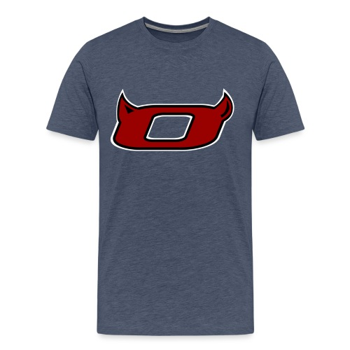 The Inferno O - Men's Premium T-Shirt