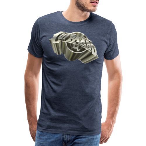 Lui paard_LuiPaard_3D_Vli - Mannen Premium T-shirt