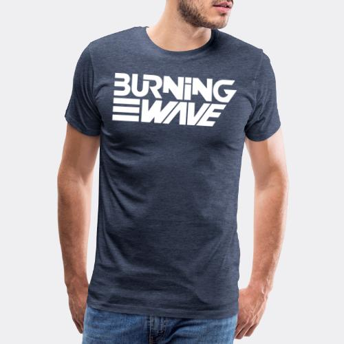 Burning Wave Block - T-shirt Premium Homme