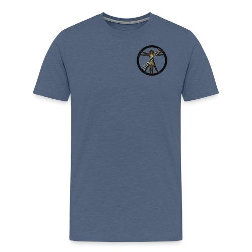 Misanthrop Logo - Männer Premium T-Shirt