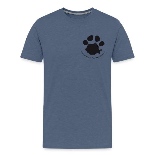 Pfote Logo gif - Männer Premium T-Shirt