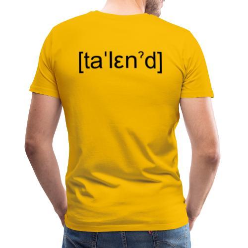 Talent - Herre premium T-shirt