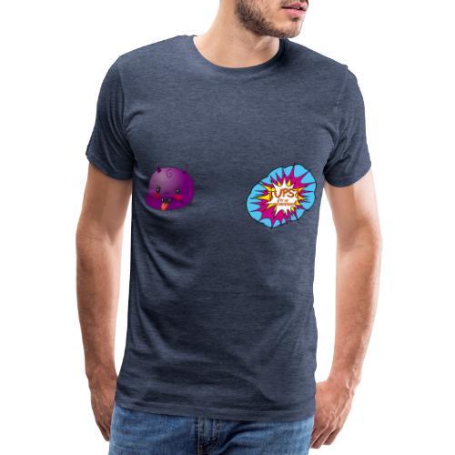 bebe diablo - Camiseta premium hombre