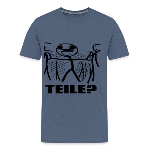 TeileFinal1 png - Männer Premium T-Shirt