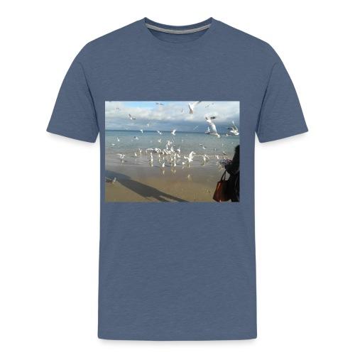 zoppot danzig 027 JPG - Männer Premium T-Shirt