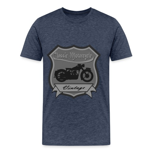 Classic Motorbike - Men's Premium T-Shirt