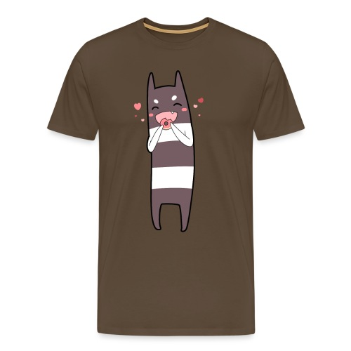Donut Monster - Men's Premium T-Shirt