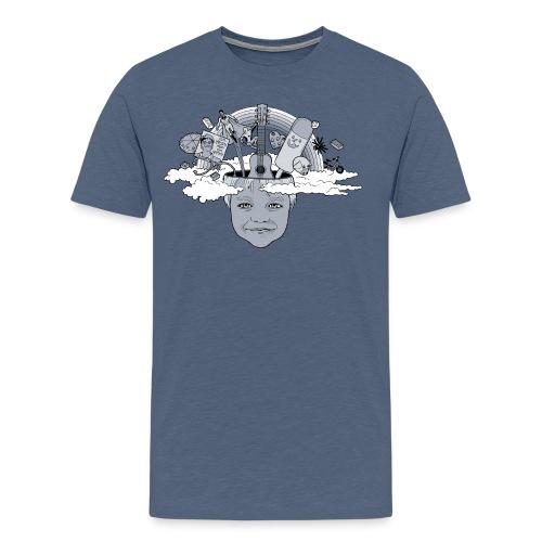 Head Full Of Dreams - Herre premium T-shirt