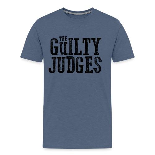 guiltylogoblack png - Men's Premium T-Shirt