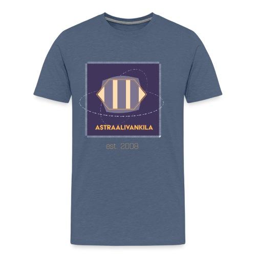 Astraalivankila purple - Miesten premium t-paita