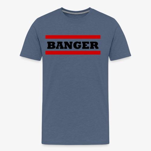 Banger2 png - Männer Premium T-Shirt