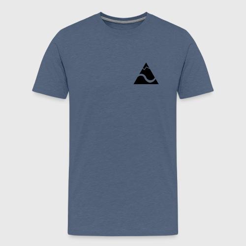 Logo Kleinekajakabenteuer - Männer Premium T-Shirt
